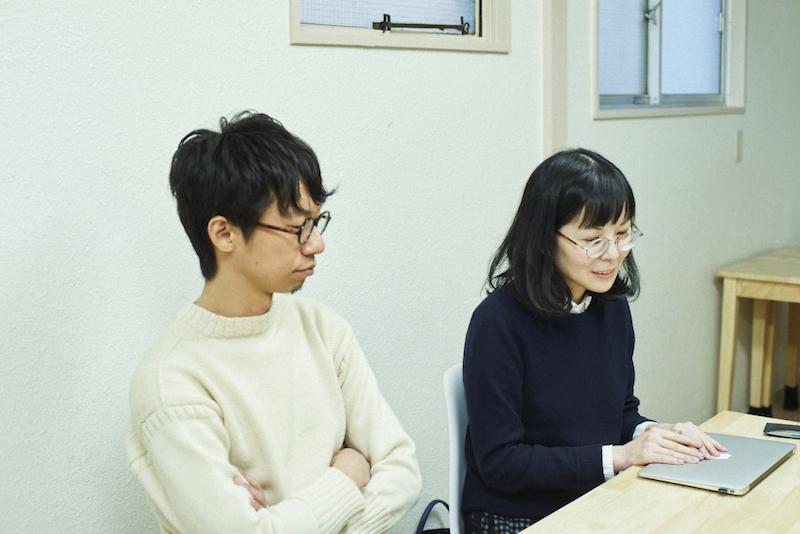 ことりっぷwebの平山高敏さんと島田玲子さん