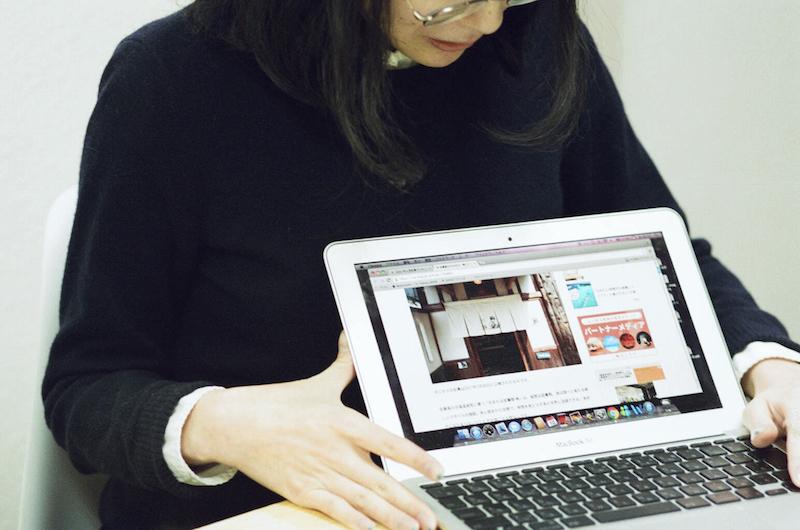 ことりっぷwebを実際に見せながらお話してくれた島田玲子さん