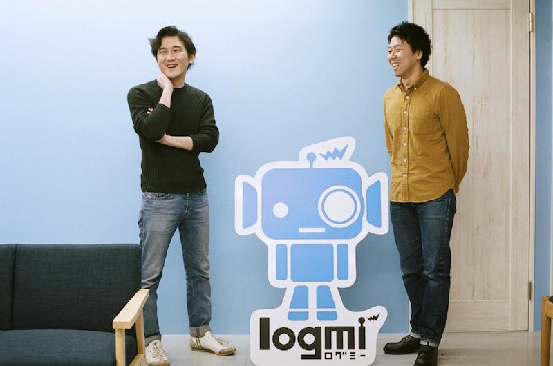 ログミー株式会社、代表取締役の川原崎晋裕さんと、宮原透さん