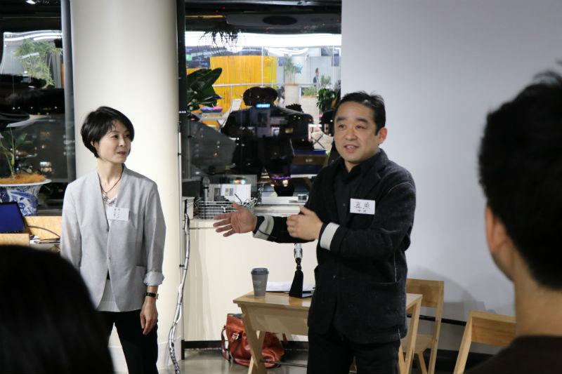 「他人の靴を履いてみる」講師をつとめられた、広瀬彩さんと須田真魚さん
